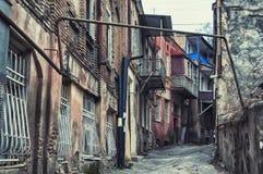 Historical part of Tbilisi Stock Photos