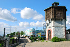 Historical part of Yekaterinburg, Russia Stock Images