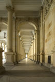 Historical passageway. Historical passageway in the train station Stock Image