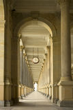 Historical passageway. Image of historical passageway in business center Royalty Free Stock Photos