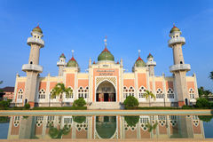 Historical Pattani Capital Mosque Stock Image