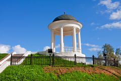 Historical pavilion of Kostroma Stock Photography