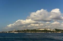 Historical Peninsula. At eminonu istanbul Stock Image
