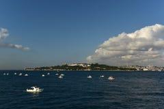 Historical Peninsula. At eminonu istanbul Royalty Free Stock Image