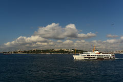 Historical Peninsula. Stream and Historical Peninsula istanbul Royalty Free Stock Image