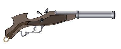 A historical pistol Stock Photos