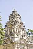 Historical place of dolmabahce palace entrance Stock Photo