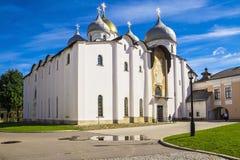 Historical place of  Veliky Novgorod, Russia Stock Photos