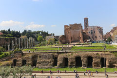 Historical places in Rome Stock Image