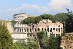 Historical places in Rome Royalty Free Stock Image