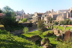 Historical places in Rome Stock Photography
