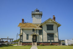 The historical Point Fermin Lighthouse Stock Images