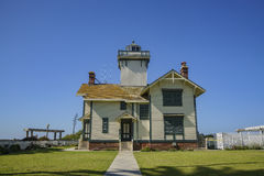 The historical Point Fermin Lighthouse Royalty Free Stock Images