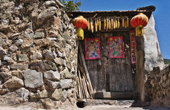 Historical Porch in Chinese Royalty Free Stock Image