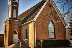 Historical Presbyterian church eat Royalty Free Stock Photo