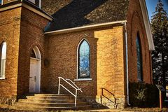 Historical Presbyterian church established Stock Image