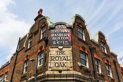 Historical pub in Tower Hamlets, London Royalty Free Stock Image