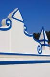 Historical public fountain in Monsaraz, Alentejo, Portugal. Stock Photos