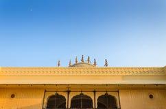 Historical Rajasthan Nahargarh fort Stock Photo