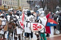Historical reconstruction Royalty Free Stock Photos