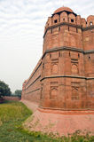 Historical red fort in India, Delhi Royalty Free Stock Image