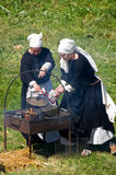 Historical reenactment Royalty Free Stock Image