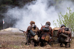 Historical reenactment Royalty Free Stock Images
