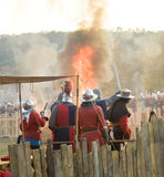 Historical reenactment in Varna Stock Photography