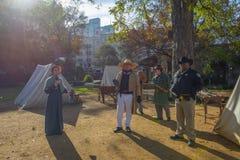 Free Historical Reenactors In Alamo Mission, San Antonio, Texas, USA Stock Photos - 149345933