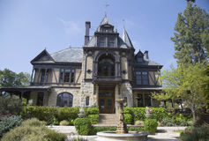 The historical Rhine House at Beringer Vineyards in Napa Valley Royalty Free Stock Photos