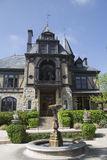 The historical Rhine House at Beringer Vineyards in Napa Valley. NAPA VALLEY, CA - APRIL 15: The historical Rhine House at Beringer Vineyards in Napa Valley on Stock Photo