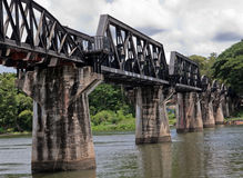 Historical River Kwai Bridge; Stock Photography