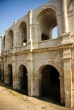 Historical Roman Arena in Arles Royalty Free Stock Photo