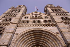 Historical Romanesque revival building Royalty Free Stock Photography
