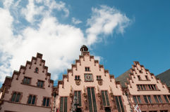 Historical Romer Square,Frankfurt Main,Germany Royalty Free Stock Photo