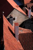 Historical roof royalty free stock image