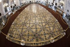 GOLESTAN PALACE. A historical room in golestan palace in theran stock photography