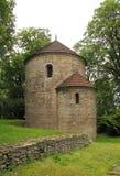 Rotunda in Cieszyn. Historical rotunda in the park in Cieszyn, Czech Republic royalty free stock photos