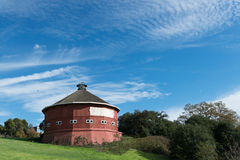Historical round barn Stock Images