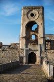Historical ruins of castle Krzyztopor in Swietokrzyskie, Poland stock photos