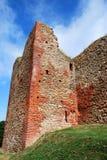 Castle Ruins. Detail of an earlier Bauska castle ruins, Latvia royalty free stock photo