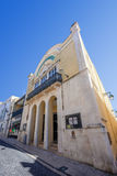 The historical Sa da Bandeira Theatre. Royalty Free Stock Images