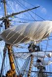 Historical sail ship royalty free stock image