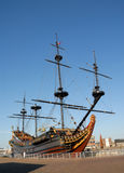 Historical sailing ship Stock Photos