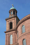 Historical Saint Pauls church of Frankfurt Royalty Free Stock Image