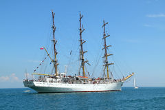 Historical seas Tall Ship Regatta 2010 Royalty Free Stock Photos