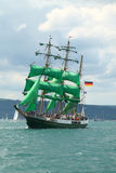 Historical seas Tall Ship Regatta 2010 stock photo