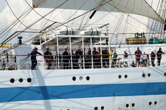 Historical seas Tall Ship Regatta 2010 stock photos