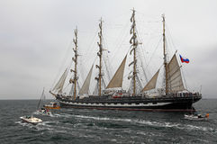 Historical seas Tall Ship Regatta 2014 Stock Photography