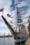 HISTORICAL SEAS TALL SHIPS REGATTA 2010 Stock Photo